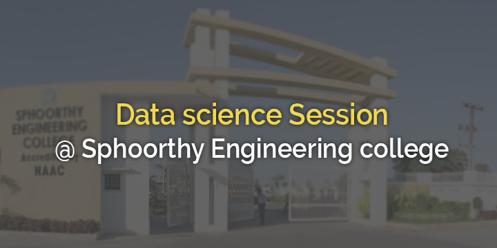 Data Science Session@Spoorthy Engineering college