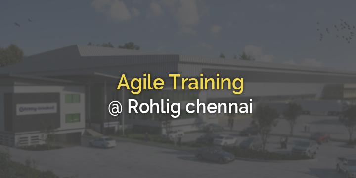 Agile Training @ Rohlig1