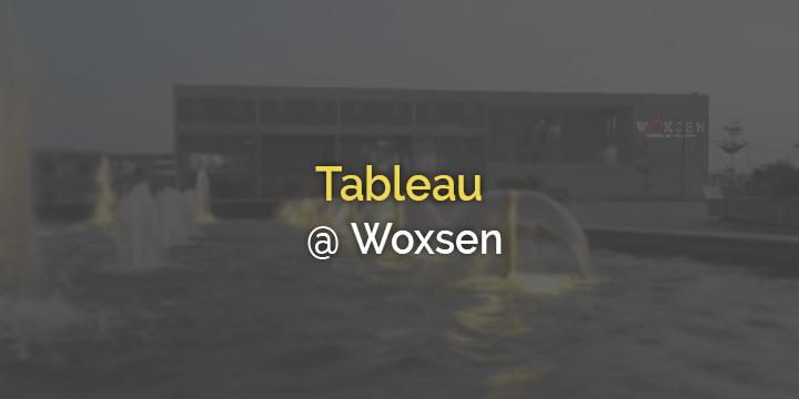 Tableau Training @ Woxsen